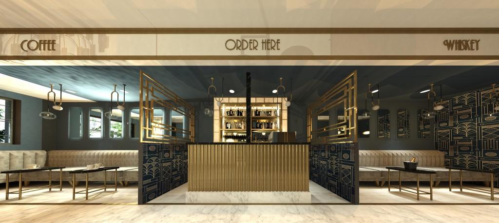 Whiskey-Coffee lounge bar