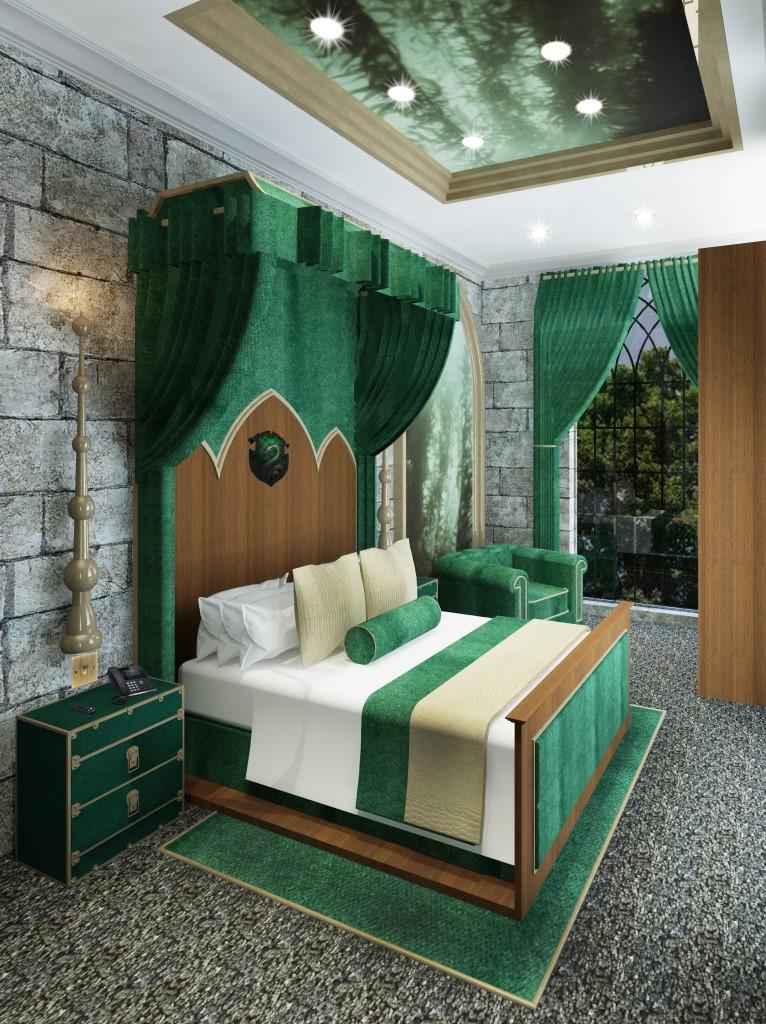 slytherin room
