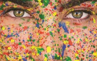 Splatter-face-paint